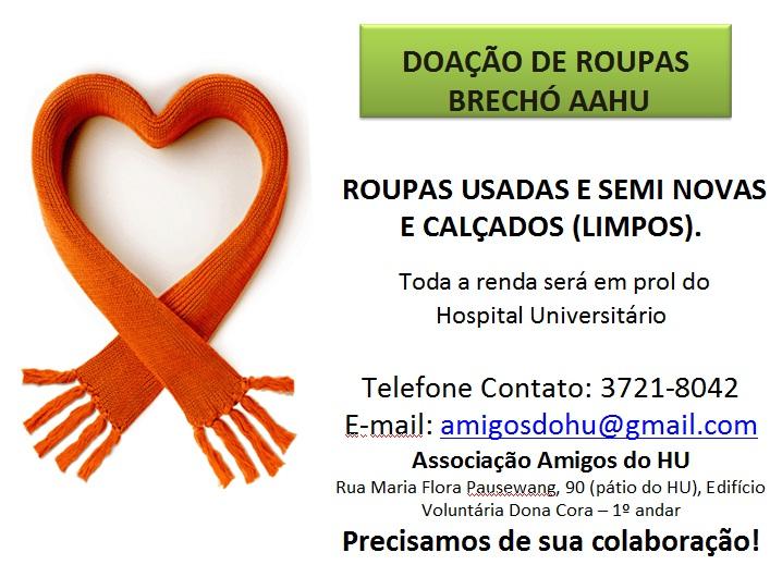9517a9e2080 Campanha de Doação de Roupas
