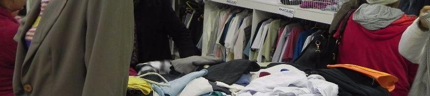 Brechó da AAHU necessita de roupas
