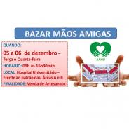 Compartilhe, participe e ajude o Bazar Mãos Amigas AAHU
